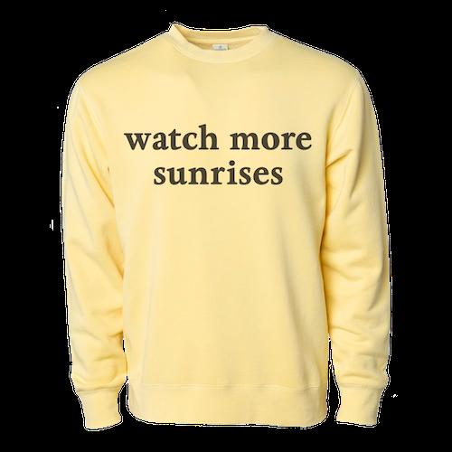 Watch More Sunries Crewneck